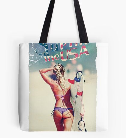 TASTY™ Surfer Girl Tote Bag