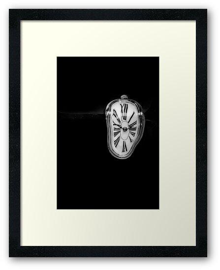 Salvador Dali Inspired Melting Clock by Victoria Avvacumova