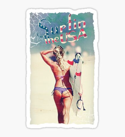TASTY™ Surfer Girl Sticker