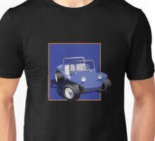 Blue Dune Buggy Blue Box Unisex T-Shirt