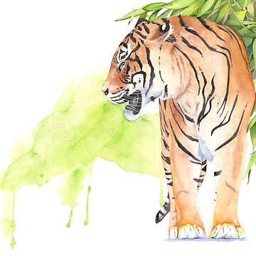 Tiger by Louisedemasi