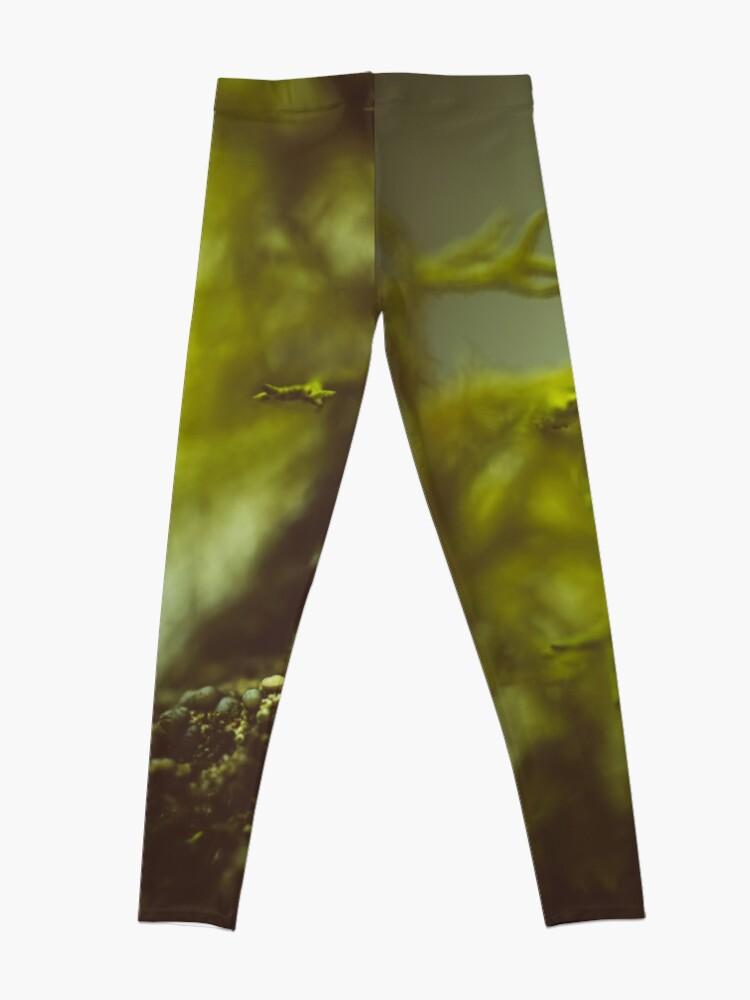 Alternative Ansicht von Lichen (moss) in a fog Leggings