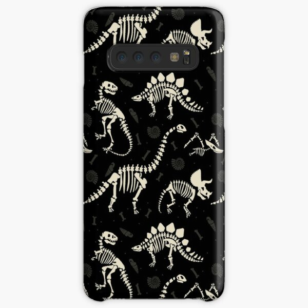 Dinosaur Fossils in Black Samsung Galaxy Snap Case