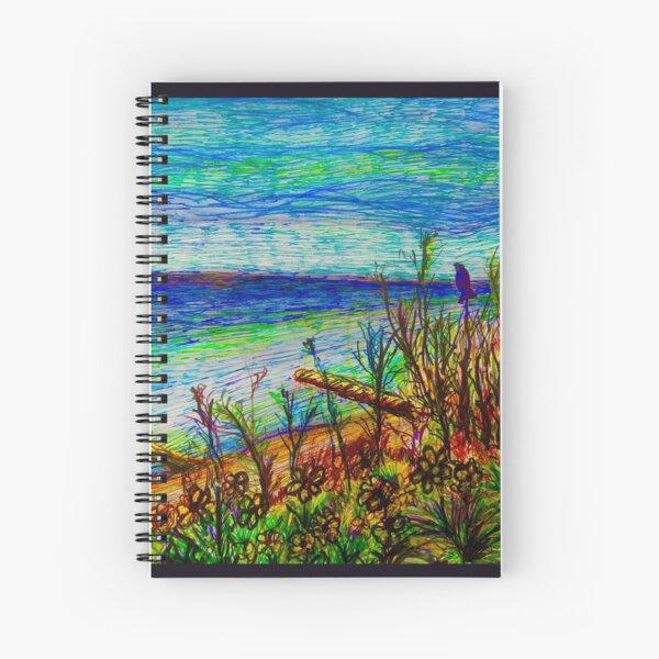 Atwater Beach Spiral Notebook
