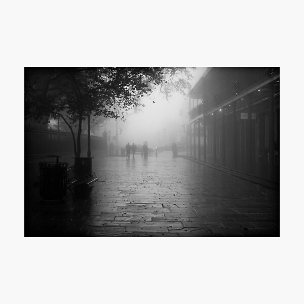 New Orleans in B&W Photographic Print