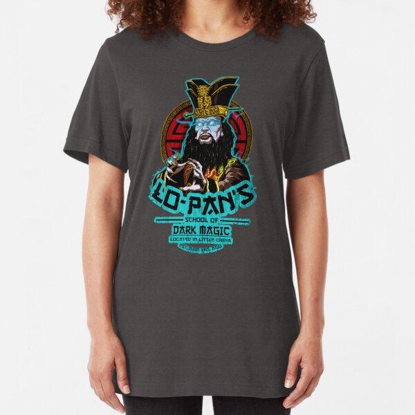 LO PAN SCHOOL OF DARK MAGIC Slim Fit T-Shirt