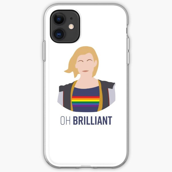 13th Doctor - Oh Brilliant - Gay Pride iPhone Soft Case