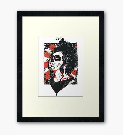 TASTY™ SUGAR SKULL Framed Print