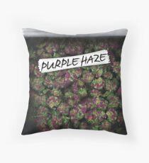 Cojín My Kush Weed Purple Haze Cannabis diseño Floral cáñamo marihuana