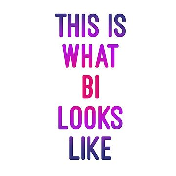 This is what Bi looks like by Mkirkdesign