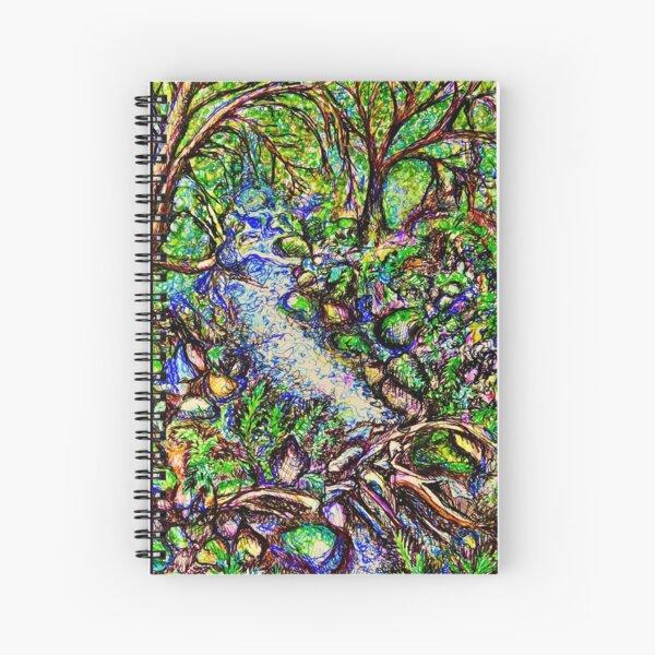 Fern Magic Spiral Notebook