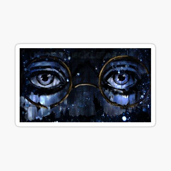 The Eyes of Doctor T.J. Eckleburg Sticker