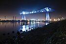 Teesside Transporter Bridge by David Lewins