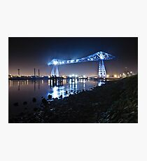 Teesside Transporter Bridge Photographic Print
