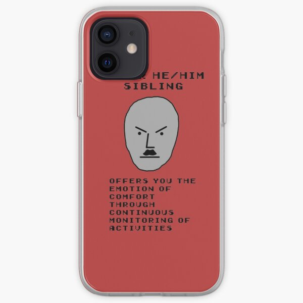 He Him Sibling iPhone Soft Case