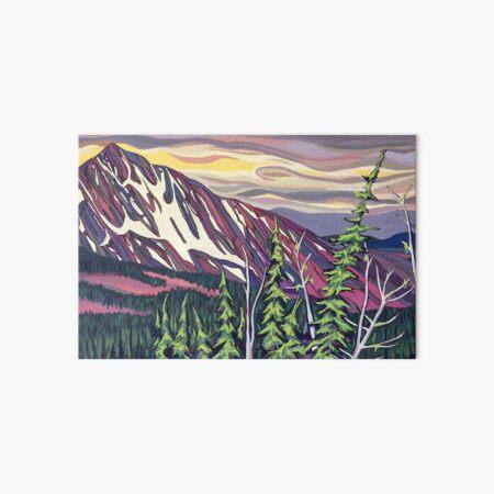 Old Glory Mountain Art Board Print