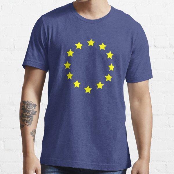 European Flag Pro EU Europe UK Brexit Voted Remain Essential T-Shirt