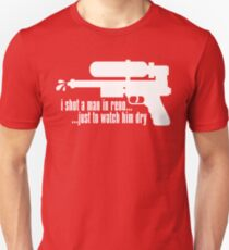 Johnny Splash - White Unisex T-Shirt