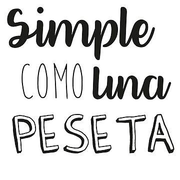simple como peseta by blackychaan