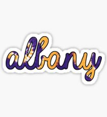 Albany Tie Dye Sticker