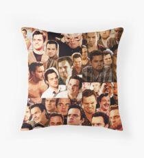 Nick Miller Paparazzi Throw Pillow