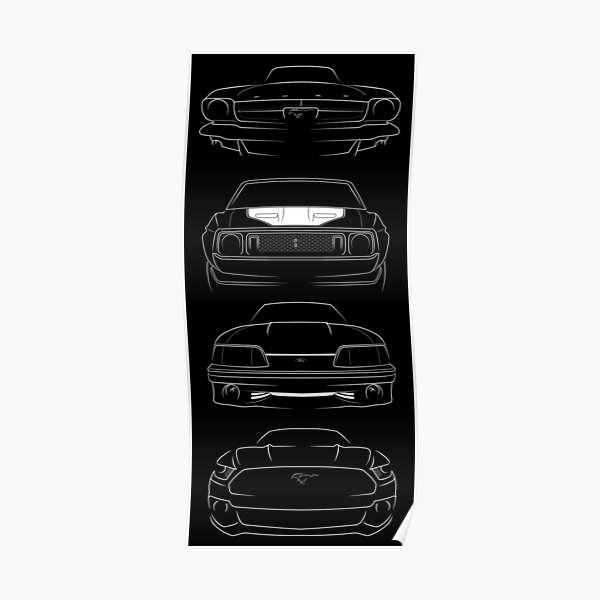 Photo Poster Print Art A0 A1 A2 A3 A4 FORD GT SUPERCHARGER CAR POSTER AB451