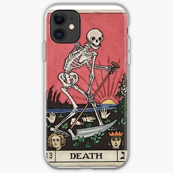 Death Tarot iPhone Soft Case