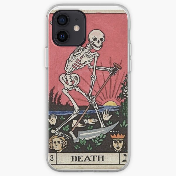 Tarot de la mort Coque souple iPhone