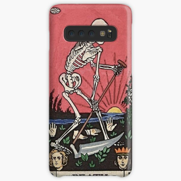 Death Tarot Samsung Galaxy Snap Case