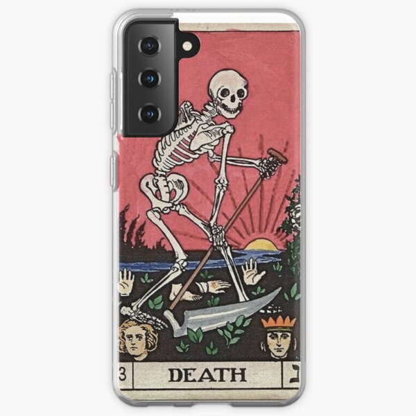 Death Tarot Samsung Galaxy Soft Case
