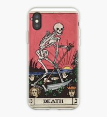 Death Tarot iPhone Case