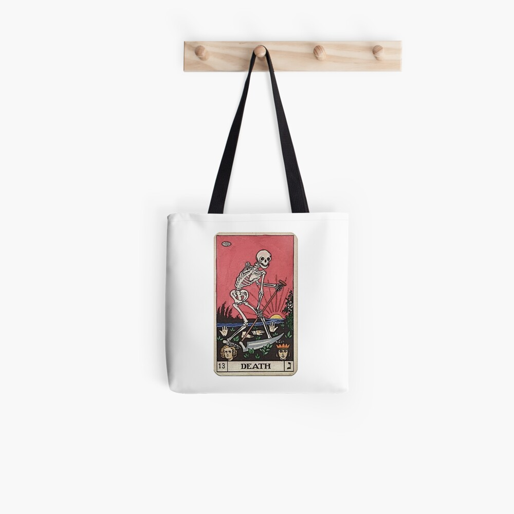 Todes Tarot Tote Bag