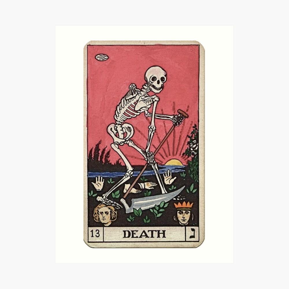 Todes Tarot Kunstdruck