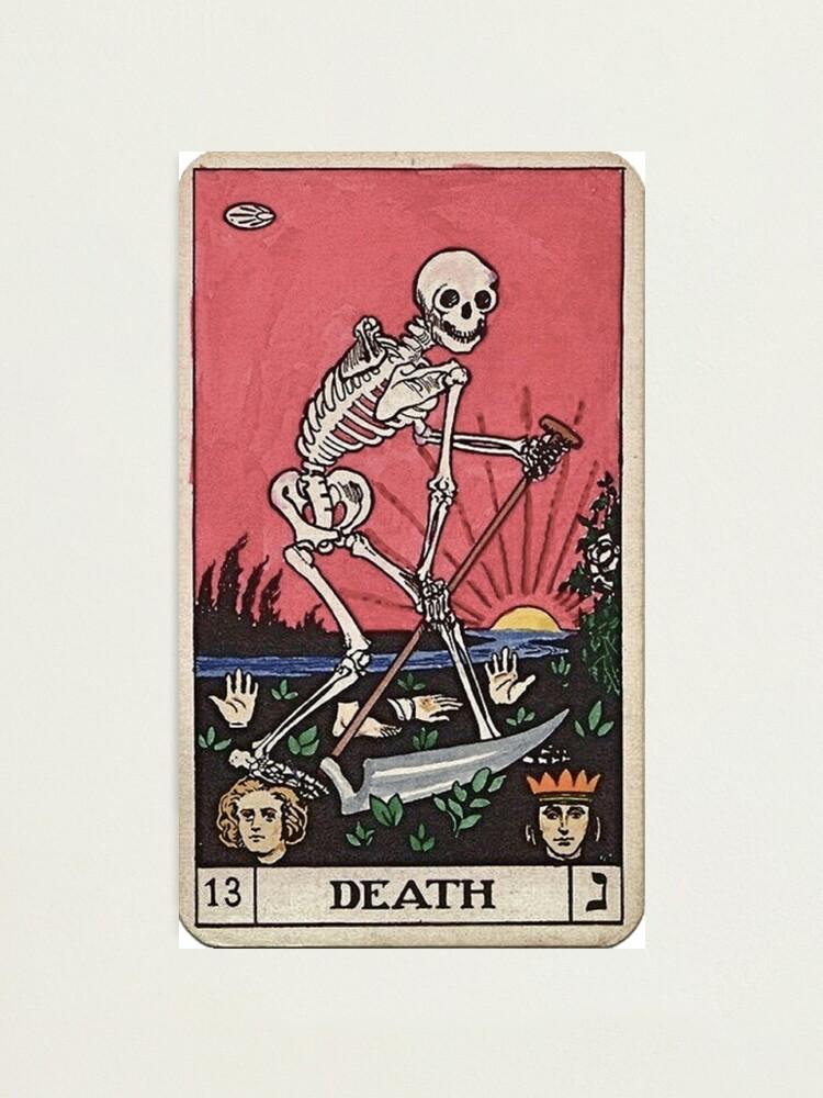 Alternate view of Death Tarot Photographic Print