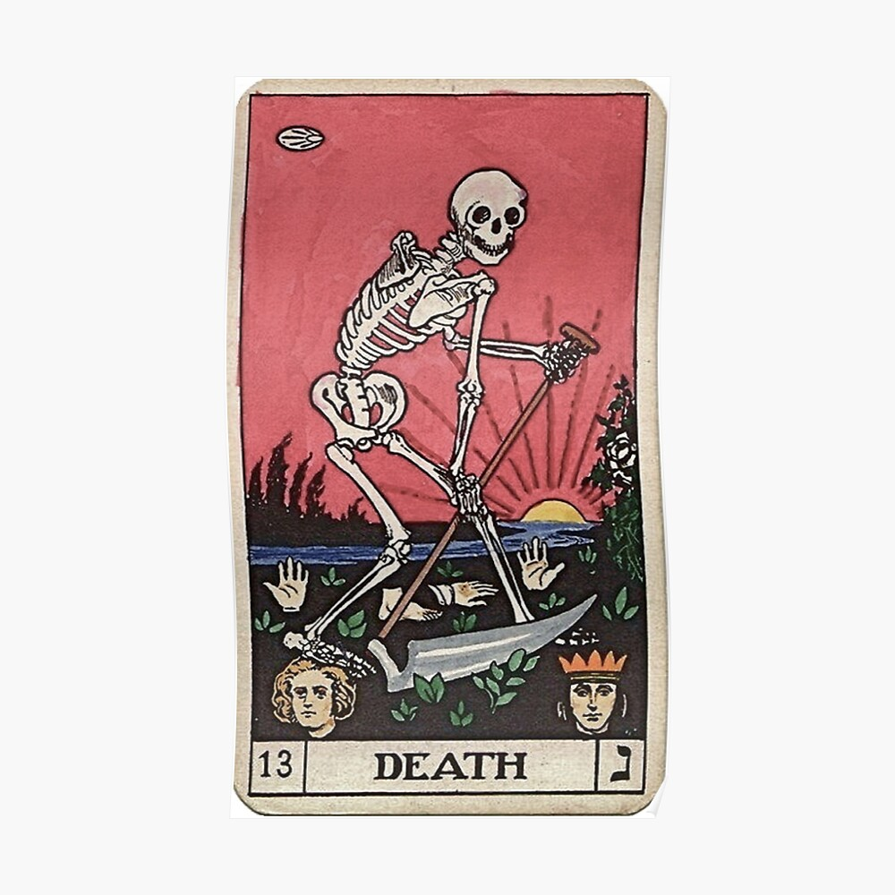 Death Tarot Poster