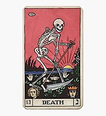Death Tarot Photographic Print