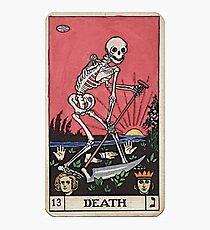 Todes Tarot Fotodruck