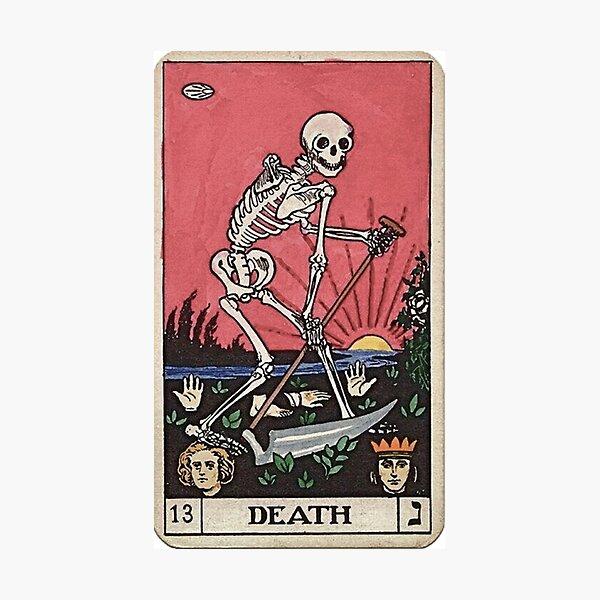 Death Tarot Photographic Print