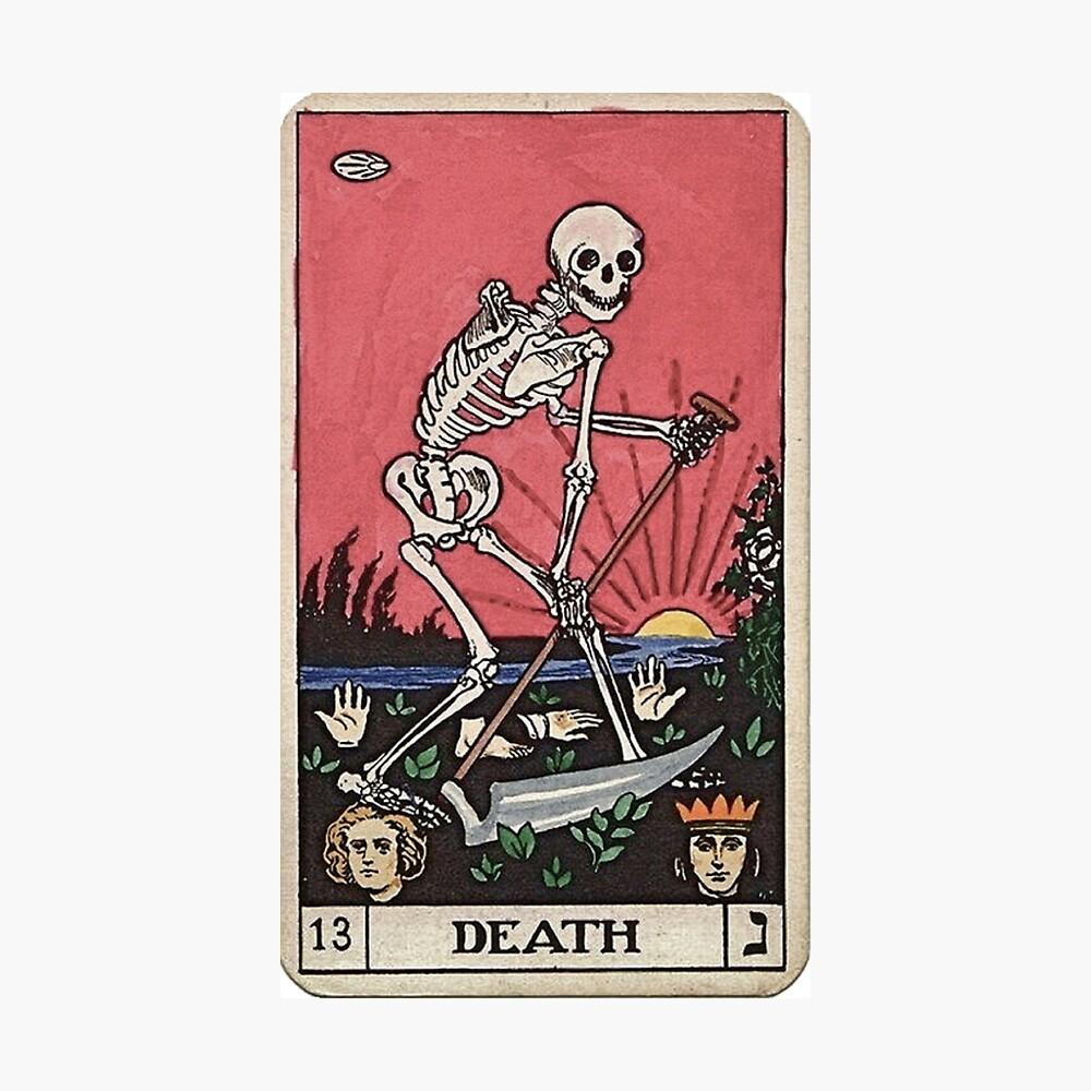 Tarot de muerte Lámina fotográfica