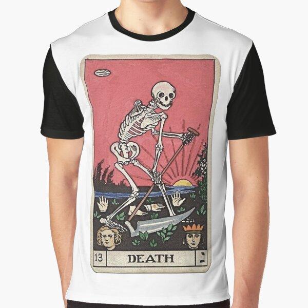 Death Tarot Graphic T-Shirt