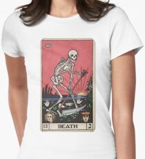 Death Tarot Fitted T-Shirt