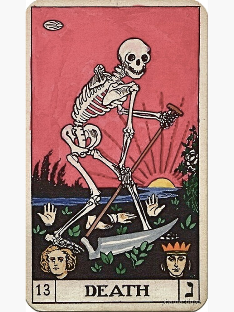 Death Tarot by phantastique