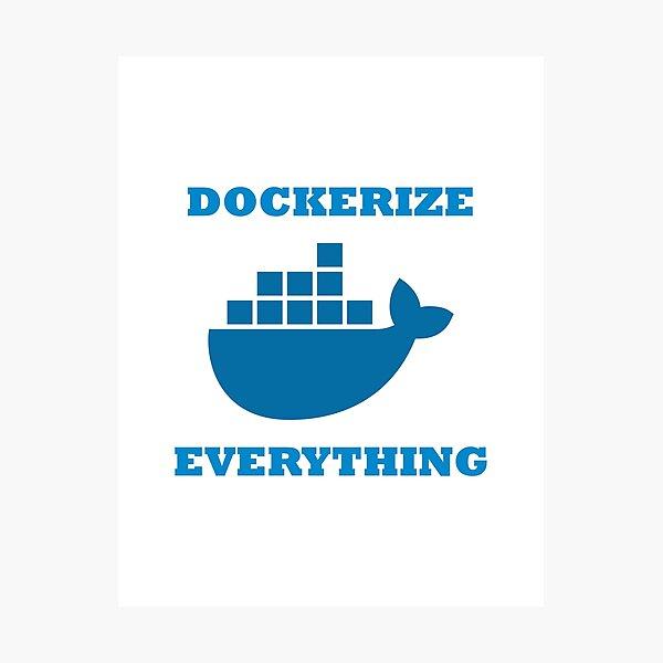 Docker Photographic Print