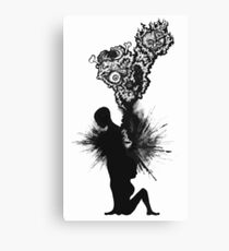 heartache Canvas Print
