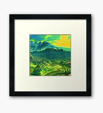 Canyon Mid Morning 2000 Framed Print