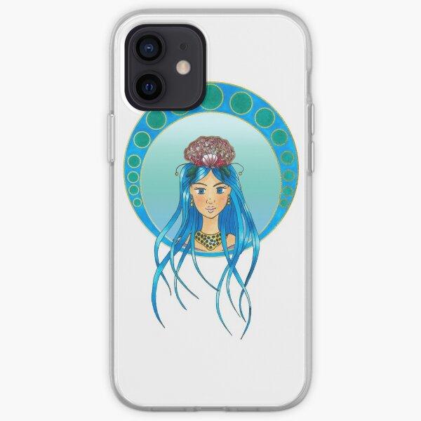 Ocean Lady - Art Nouveau style iPhone Soft Case