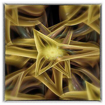 DA FS Triangle Star A3FAW Golden© by OmarHernandez