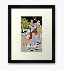 The Rosicrucian Egyptian Museum is Open Framed Print