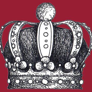Vintage crown graphic by Surrealist1