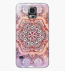 Purple Mandala 1 Case/Skin for Samsung Galaxy